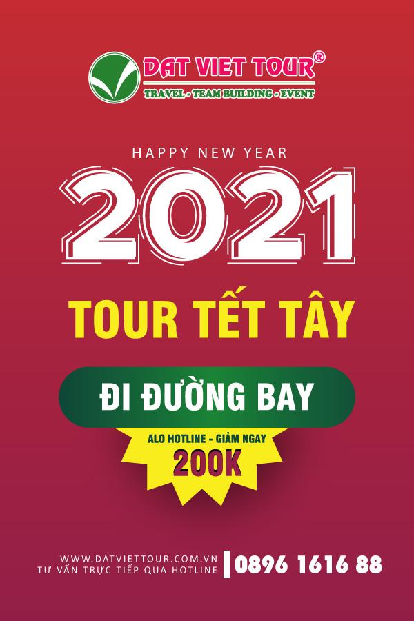 Tour bay Tết